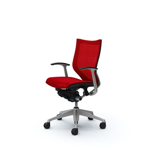 OKAMURA CP Silver Chair Low Back