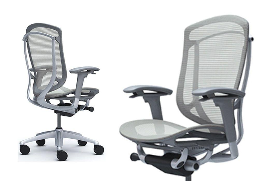 Židle Okamura Contessa Seconda Světle šedá Síťovina
