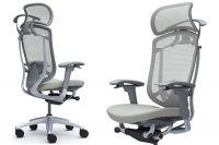 OKAMURA CONTESSA SECONDA Grey Body Light grey Cushion Seat Chair